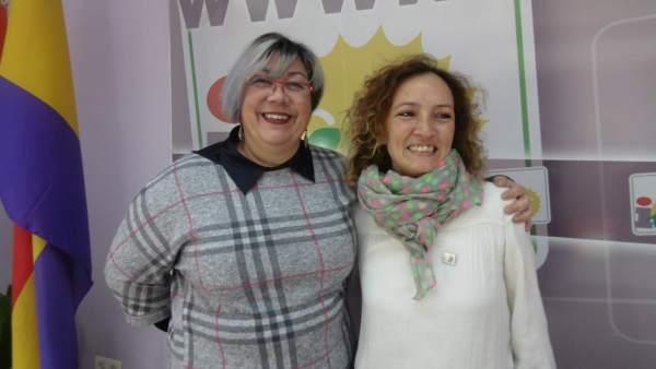 La concejal de IU en el Ayuntamiento de Huelva por IU, Mónica Rossi.