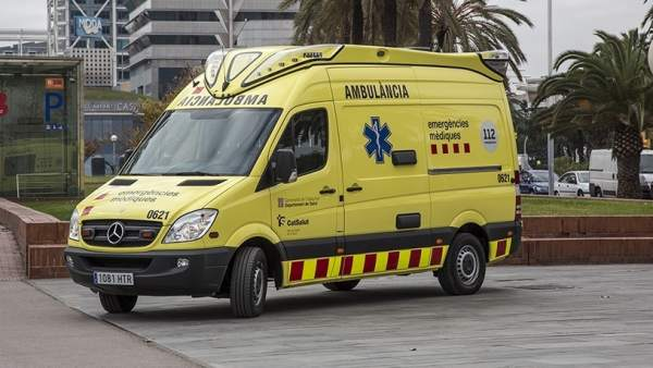 Nueva ambulancia del SEM en Barcelona.