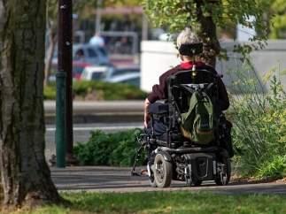Silla de ruedas, esclerosis.