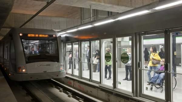 Ms0025-Campaña De Publicidad  Sobre El Uso Del Metro De Sevilla