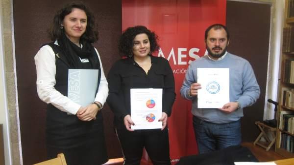 A Mesa presenta el balance anual de A liña do galego