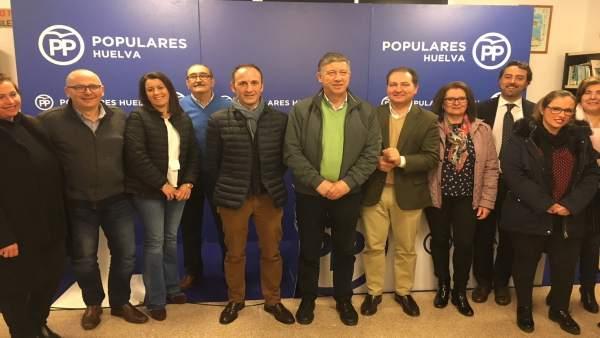 Congreso local del PP de Bonares (Huelva)