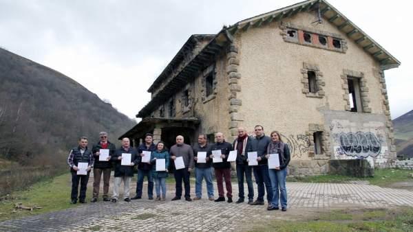 Representantes del PRC en la comarca de Valles Pasiegos