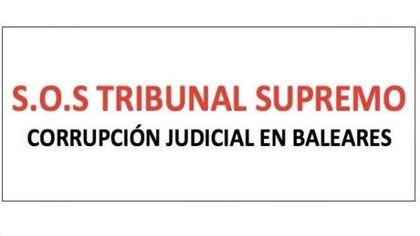 Manifestación contra corrupción judicial