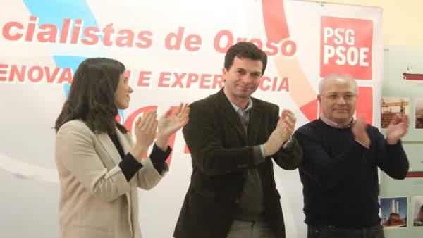 Gonzalo Caballero, Manuel Mirás y Vanessa Boo