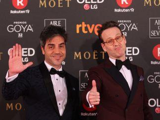 Joaquín Reyes y Ernesto Sevilla no se rinden tras el fiasco de los Goya y estrenan programa de parodias