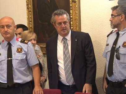 El conseller de Interior Joaquim Forn.