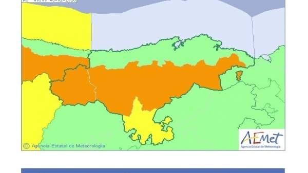 Previsión de la AEMET para el 4 de febrero en Cantabria
