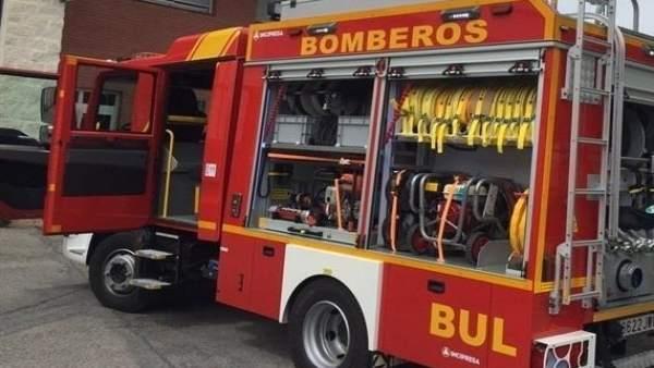 Recurso de coche de bomberos en Andalucía