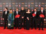Políticos en la alfombra roja de los Goya 2018