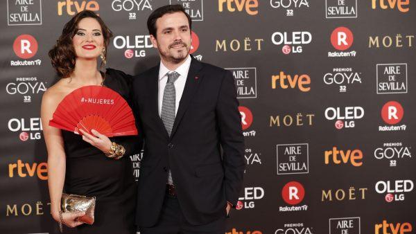Alberto Garzón y su mujer, Anna Ruiz