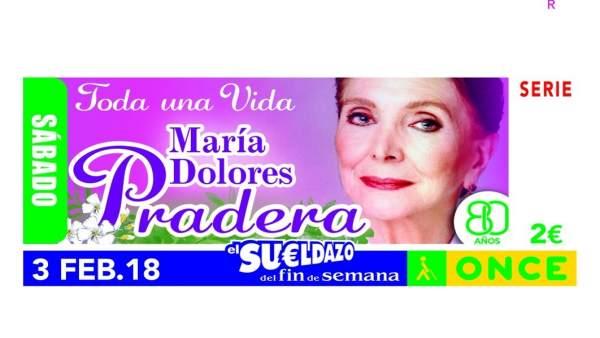 Ndp La Once Dedica Un Cupón A María Dolores Pradera