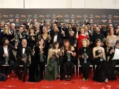 Premiados en los Goya 2018