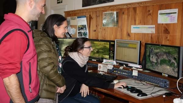 Visita de la subdelegada del Gobierno al centro de cría de lince de Doñana