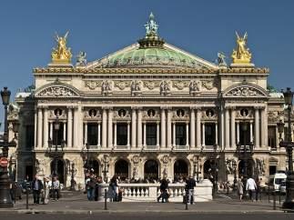 Las bailarinas de la Ópera Garnier