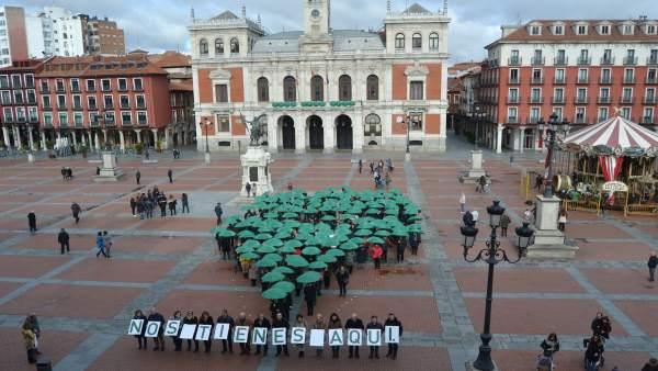 Valladolid.- Punto de geolocalización de AECC