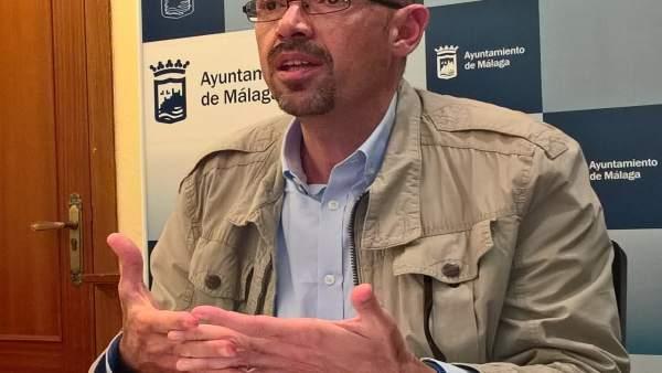 Eduardo zorrilla malaga para la gente iu malaga rueda prensa