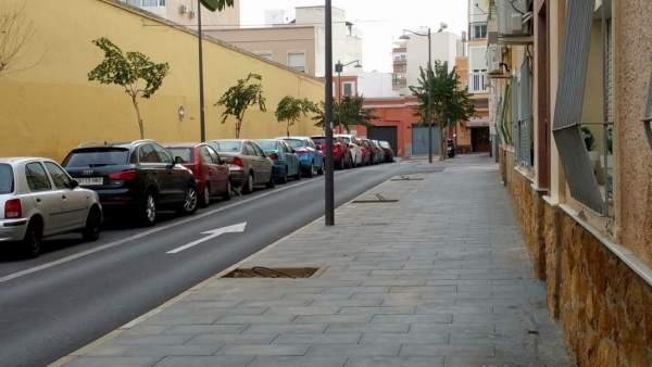 Calle de la Plaza de Toros de Almería