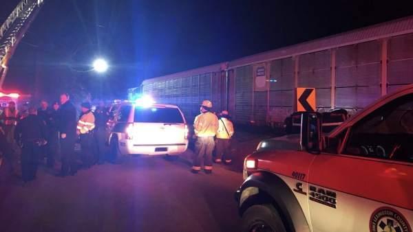 Accidente de tren en EE.UU