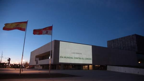 Valladolid.- Proyección Día Mundial contra el Cáncer