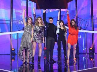 Los finalistas de 'OT'