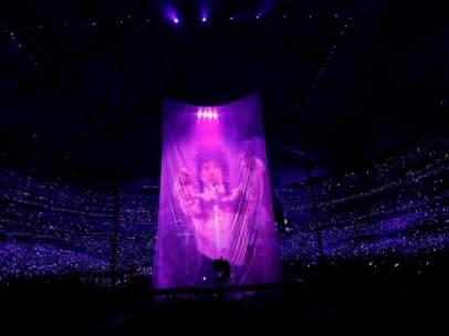 Holograma de Prince en la Super Bowl