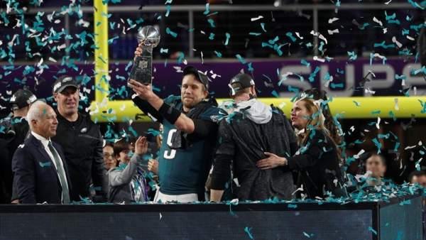 Los Eagles de Filadelfia, campeones de la NFL