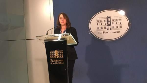 Olga Ballester, diputada de Cs