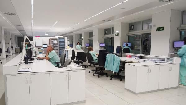Instalaciones de CHN, donde ya funciona el nuevo sistema informático
