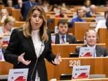 La presidenta andaluza, Susana Díaz, en el Comité Europeo de las Regiones el pasado 31 de enero.