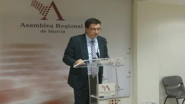 El diputado regional de Ciudadanos, Juan José Molina