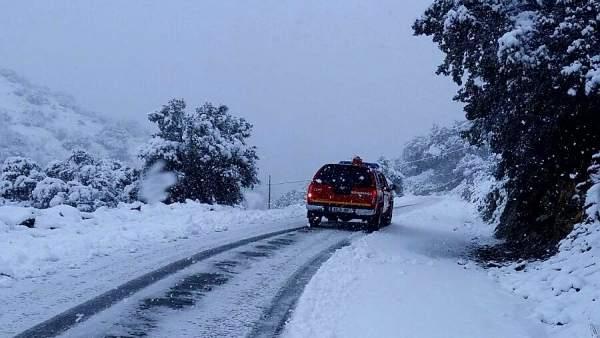 Carreteras nevadas