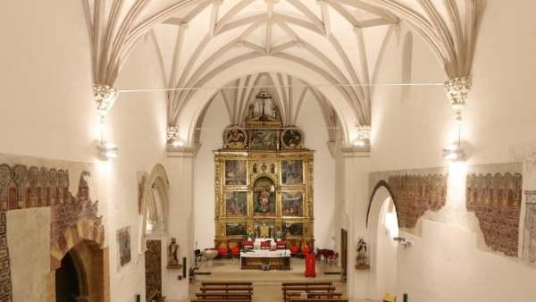 Nueva iluminacion de la Iglesia de San Miguel de Tarazona (Zaragoza)