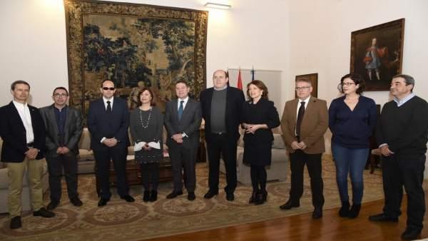 Reunión entre la Junta y representantes del Tercer Sector de C-LM