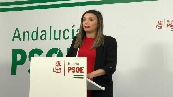 La parlamentaria del PSOE por Huelva María Márquez.