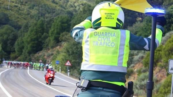 Guardia Civil,tráfico, Vuelta a España