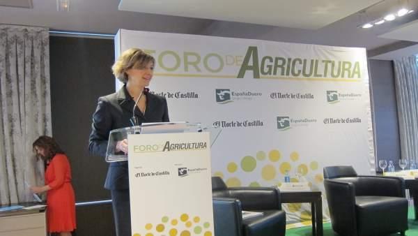 García Tejerina en el Foro Agrario de El Norte de Castilla