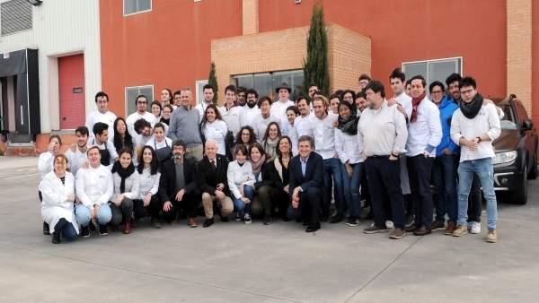 Los estudiantes de la Basque Culinary en Cascajares