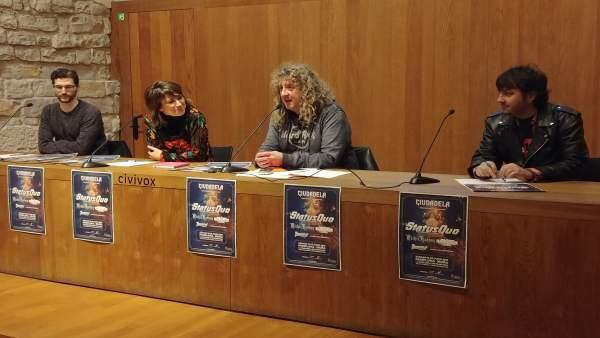 Presentación del festival Ciudadela, Tierra de Rock