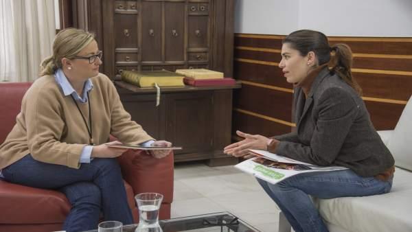 Asamblea De Extremadura. Np Visita Fundación Secretariado Gitano