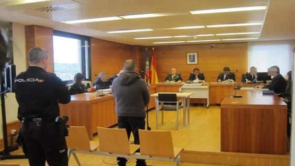 El acusado en el juicio