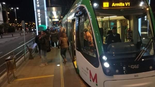 Imagen de archivo del Metro de Granada