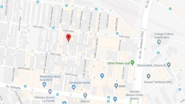 Un xiquet de 14 anys mata el seu germà de 19 d'una punyalada en el barri de La Florida d'Alacant