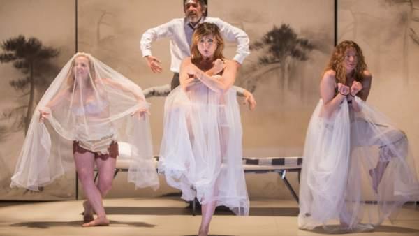 La obra Sueño, con Nathalie Poza