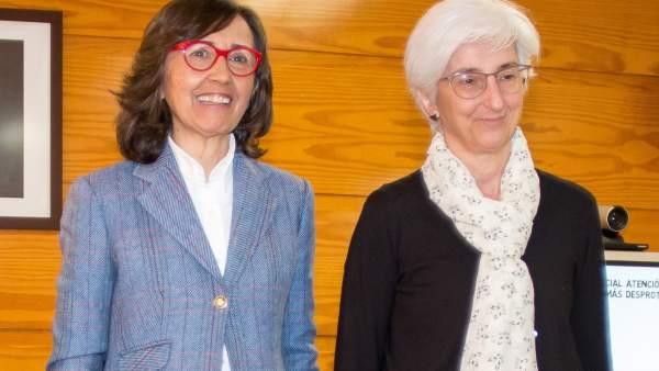 Ana Tárrago, Rosa Aguilar y María José Segarra presentan la Oficina Fiscal