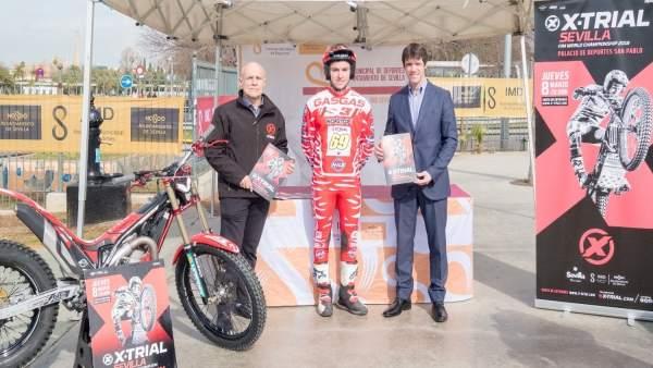 Presentación del Campeonato del Mundo de X-Trial 2018 en Sevilla