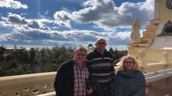 Remedios Ramos y Eduardo Zorrilla de Málaga para la Gente