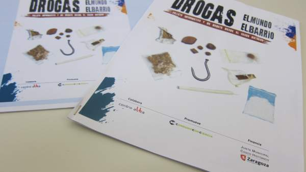 Folleto sobre drogas