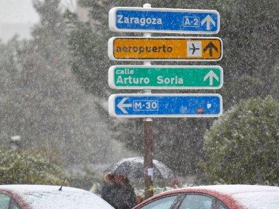 Señales bajo la nieve