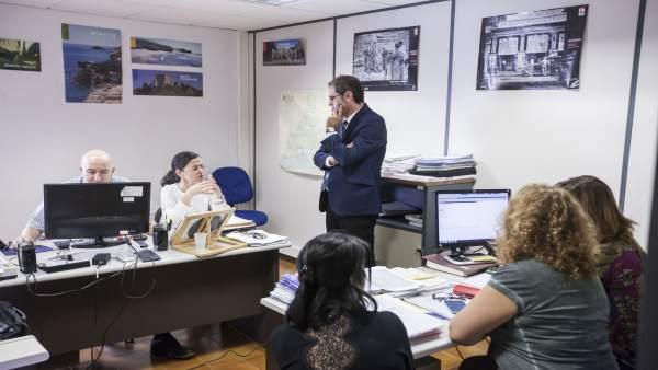 El área de Asistencia a Municipios asesora en arquitectura a los municipios.